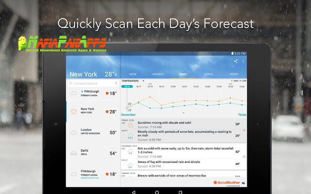 AccuWeather Platinum Apk MafiaPaidApps