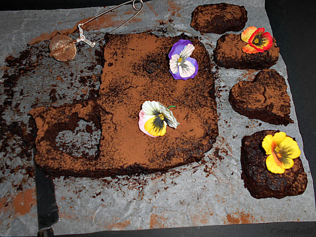 brownie sem acucar