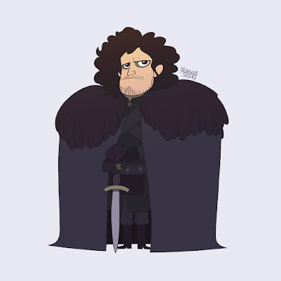 Game of Thrones: Jon Snow by Lorenzo Sabia