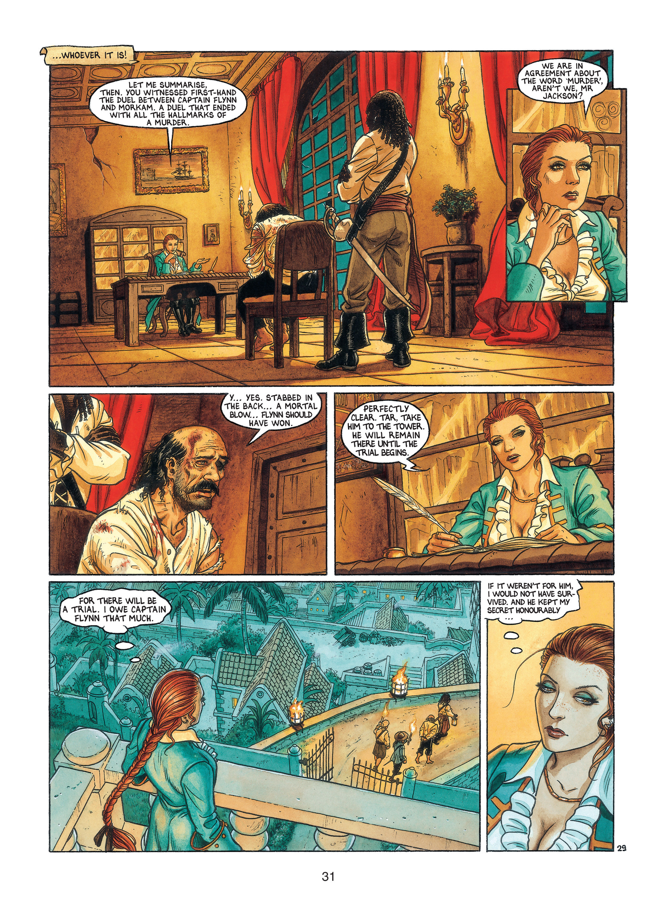 Read online Barracuda comic -  Issue #3 - 32