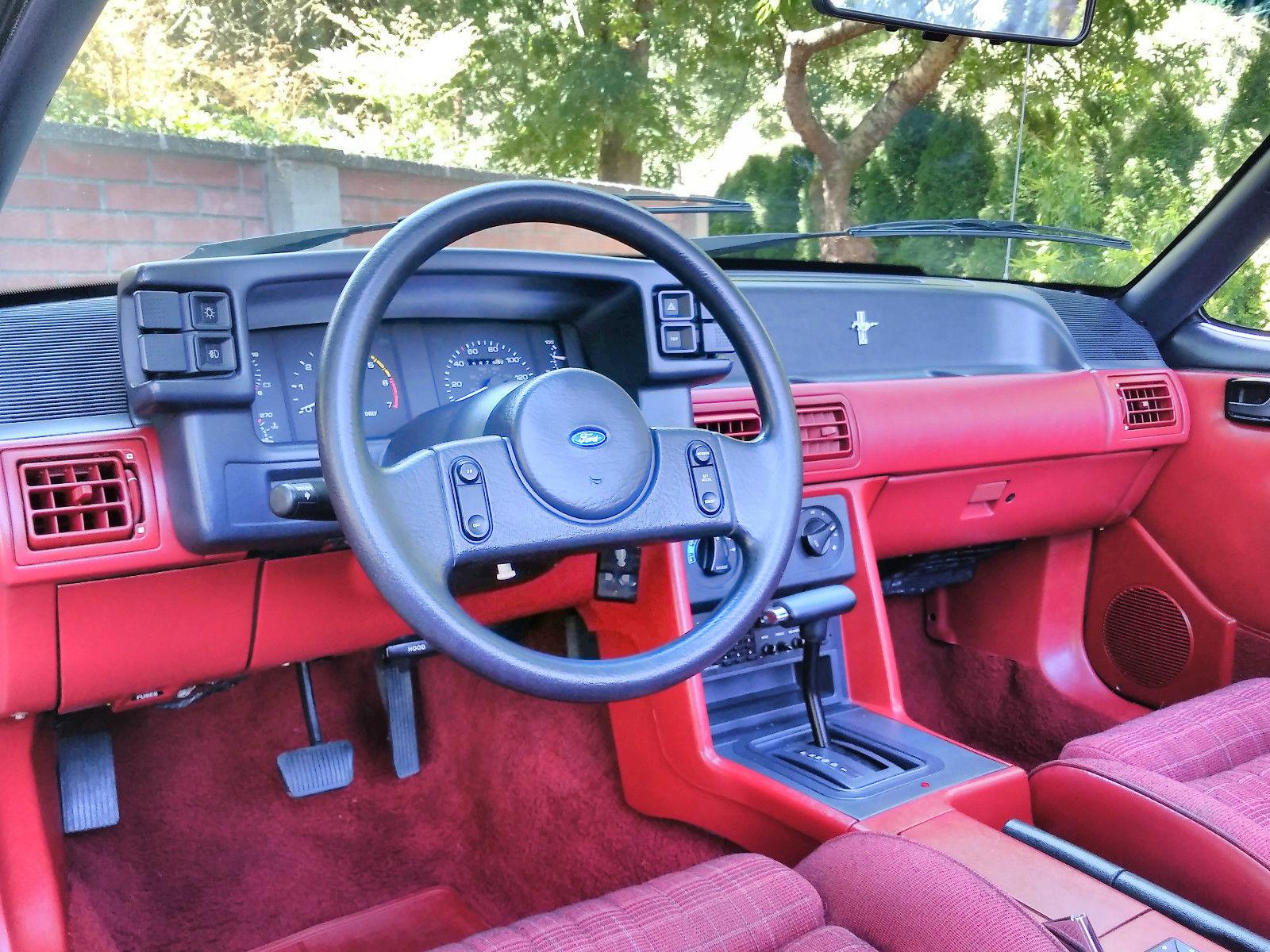 1989 Ford Mustang Cobra Gt Mustang Convertible 5 0 V8