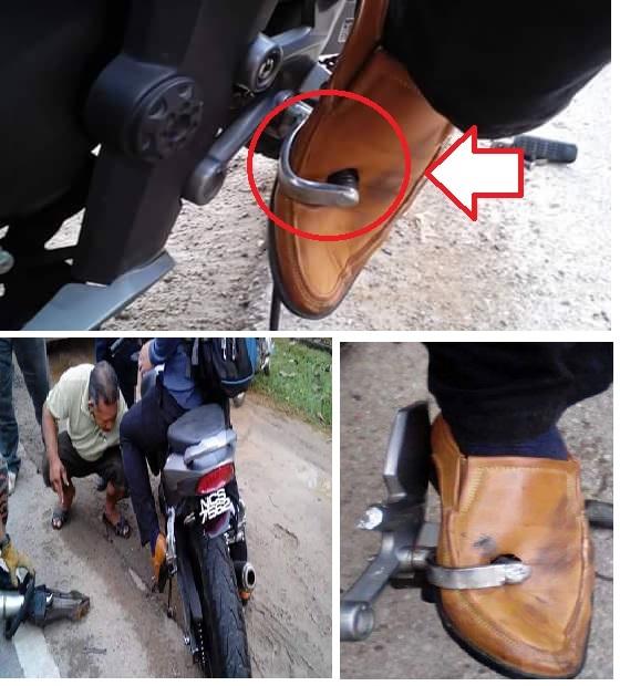 pedal perseneling nembus kaki