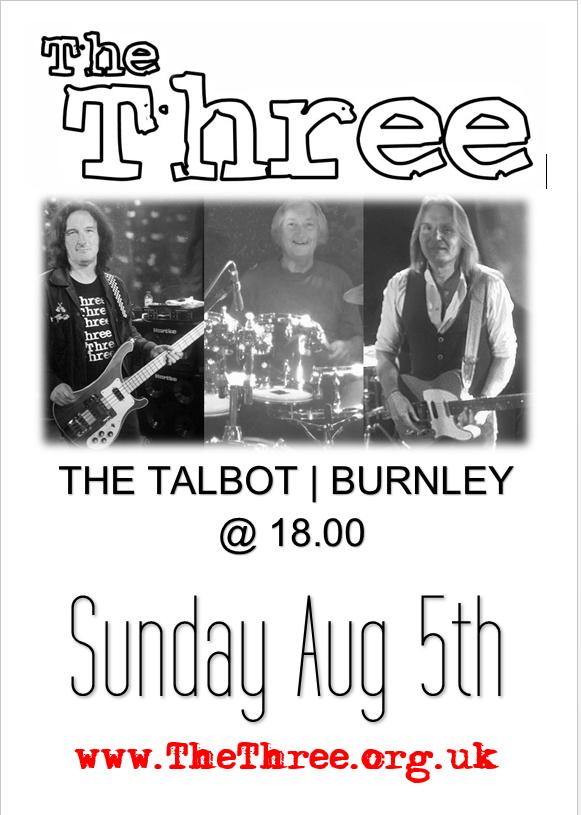 The Three The Talbot Burnley