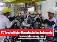 Lowongan Kerja PT. Toyota Motor Manufacturing Indonesia (TMMIN) Karawang