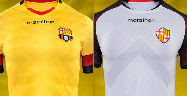 Barcelona Sc 2020 Home Away Third Kits Released Footy Headlines