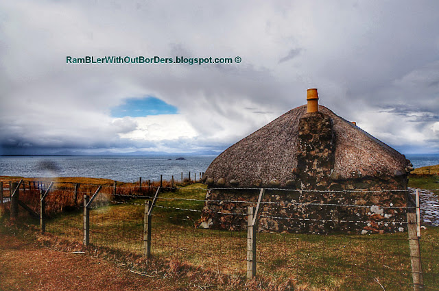 Scottish Blackhouse, Isle of Skye, Scotland, UK