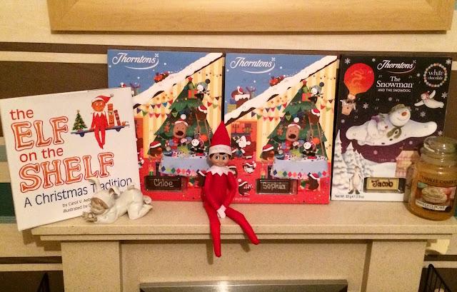 elf on the shelf day one