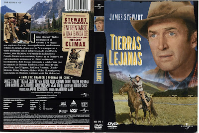 Cover, caratula, dvd: Tierras lejanas | 1954 | The Far Country