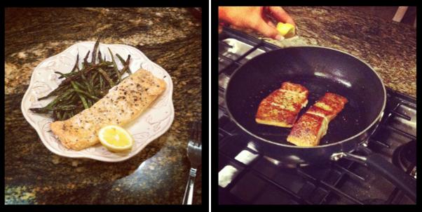 Just Jessie B: Lemon Pepper Salmon Two Ways