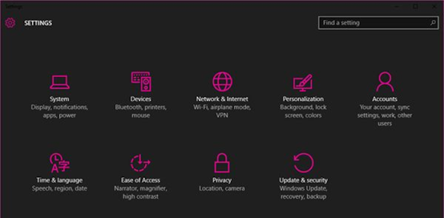 Tema Dark Terkeren Yang Tersembunyi di Windows 10