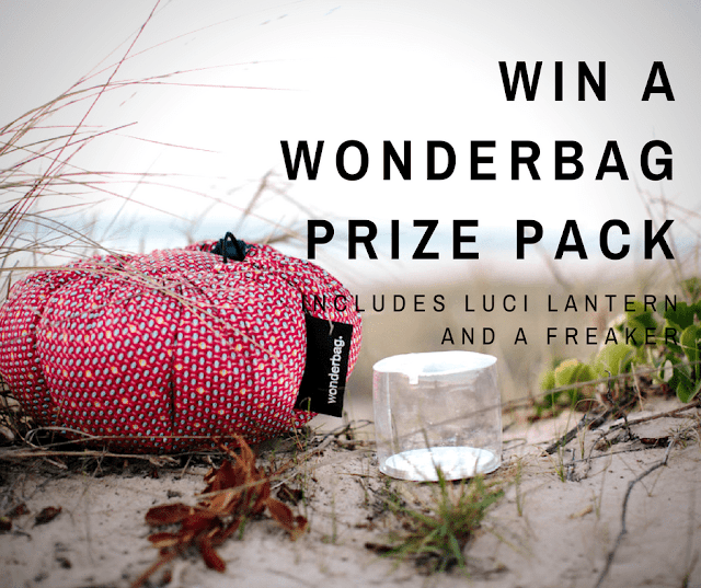The perfect Christmas gifts for campers - Wonderbag, Luci Lantern and Freaker