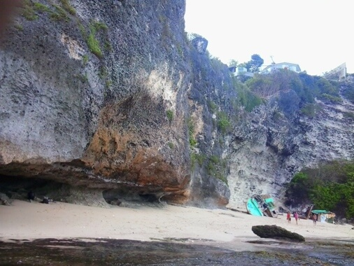 Suluban Beach Blue Point, Uluwatu Beach Suluban Beach Cave, Suluban Beach Bali