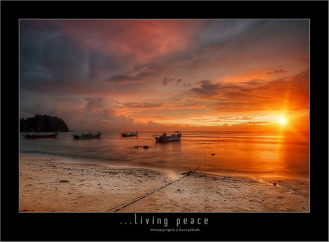 Living peace by Keris Tuah
