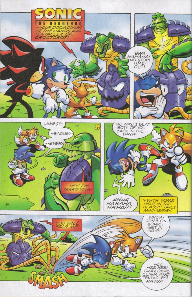 Read online Sonic The Hedgehog comic -  Issue #161 - 3
