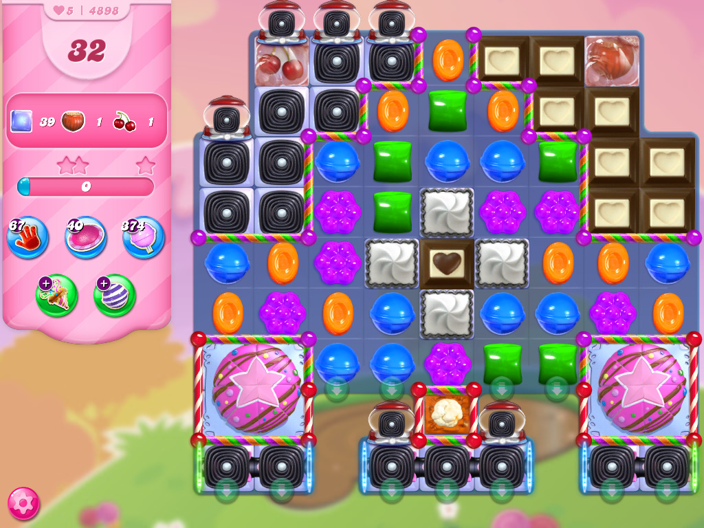 Candy Crush Saga level 4898