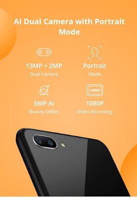 Realme C1 AI Dual camera