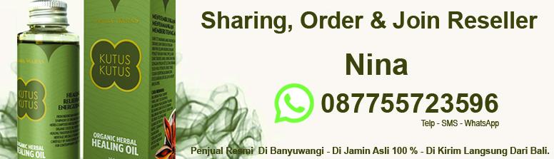 Agen Resmi Penjualan Minyak Kutus Banyuwangi