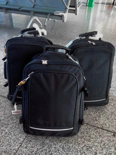 Una maleta para equipaje de mano muy funcional