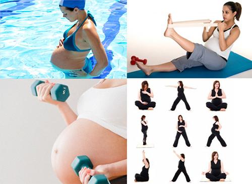 Phụ nữ mang thai nên tập luyện thể dục như nào?