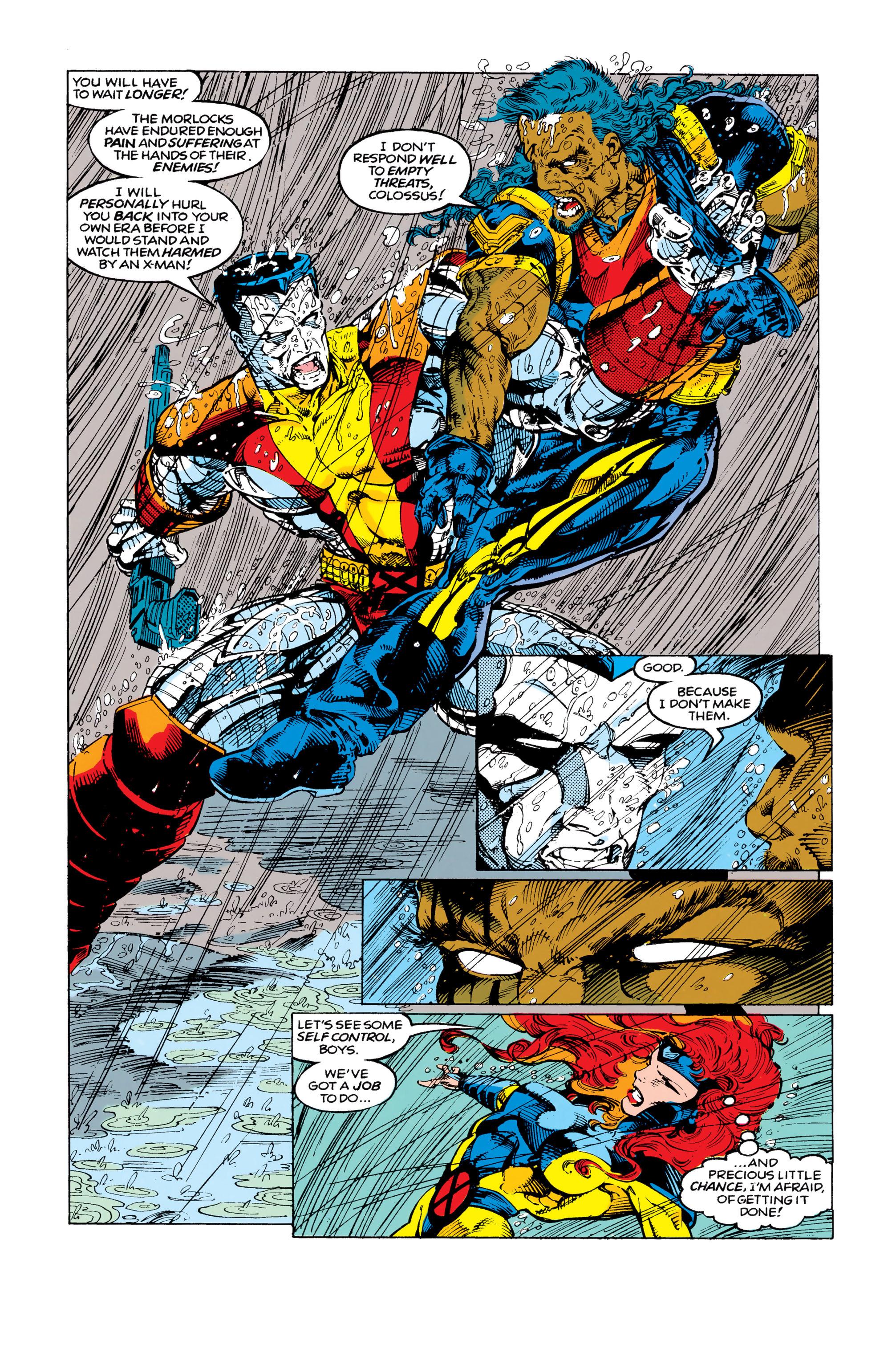 Read online Uncanny X-Men (1963) comic -  Issue #292 - 4