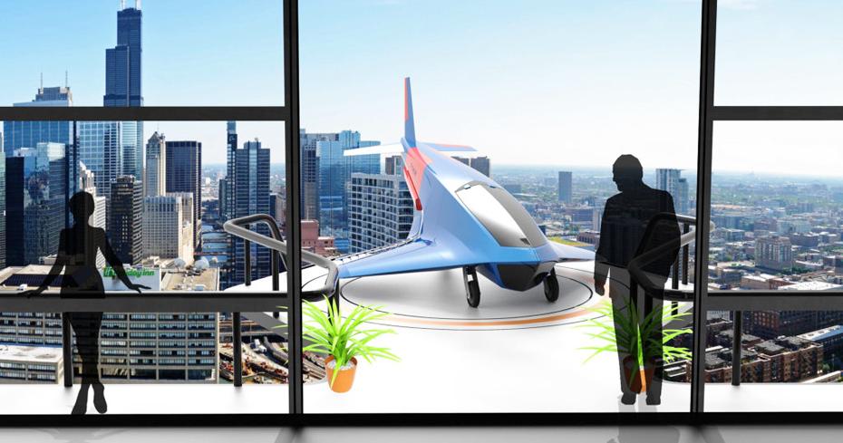 Il vostro drone sul balcone