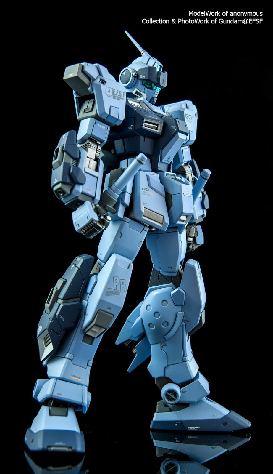 The WhiteBase of Gundam@EFSF: HGUC限定【PALE RIDER 蒼白騎士】RX-80PR (陸戰重裝備仕樣)
