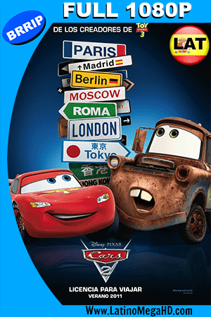 Cars 2 (2011) Latino Full HD 1080P ()