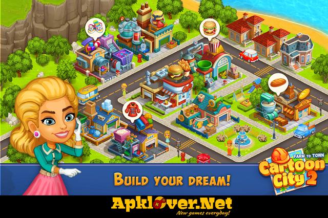 Cartoon City 2 Farm to Town MOD APK unlimited money