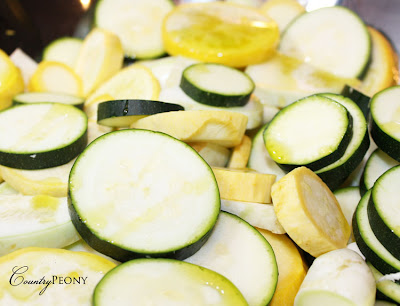 Summer Squash and Olive Oil