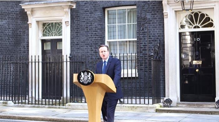 UK people agree to leave EU after referendum, prime minister resigns