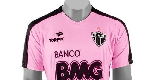 bd33f93930a6b FUTEBLOG  O Futebol e a moda da  Camisa Rosa