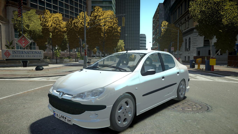 Gta IV Peugeot 206 Yaması | gta san andreas and gta ıv yamaları