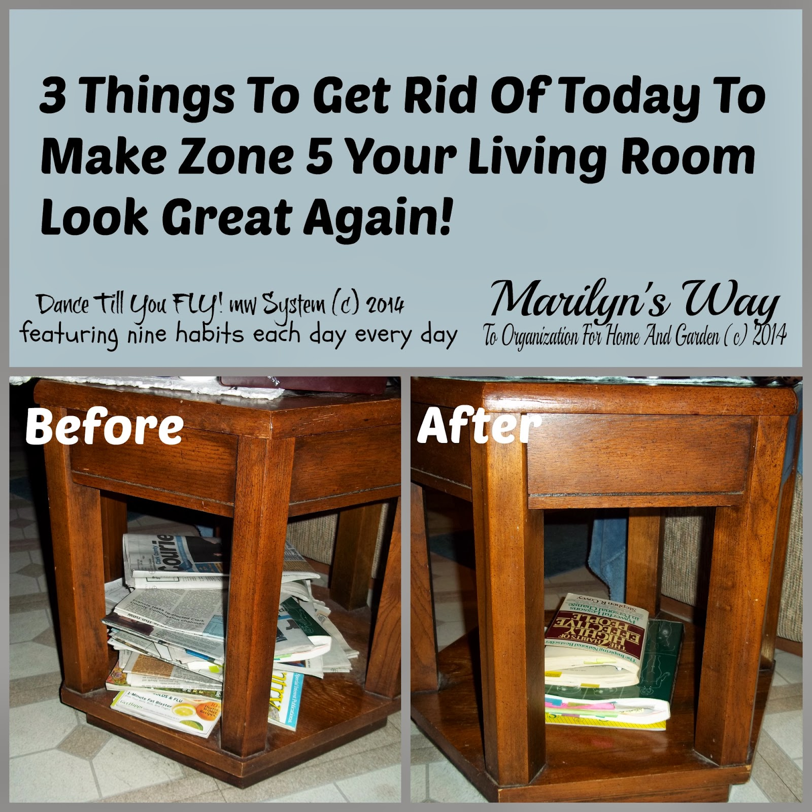 3 Things You Can Get Rid Of Today And Make Zone 5 Your ...