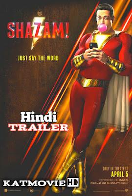 SHAZAM! HINDI TRAILER 2019 | Watch Online & 1080p 720p