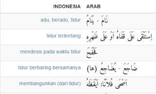 variasi kamus bahasa arab indonesia online