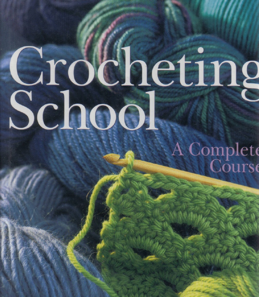 Escuela de Crochet. Revista Tutoriales