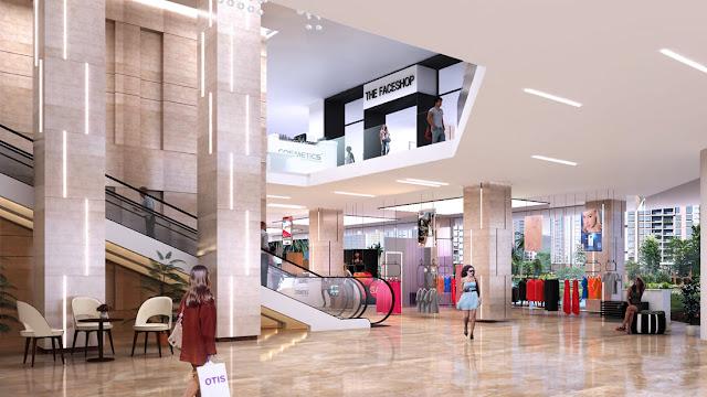 Trung tâm thương mại tại The Legend