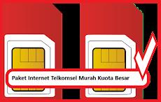 Paket Internet Telkomsel Murah Kuota Besar 2019
