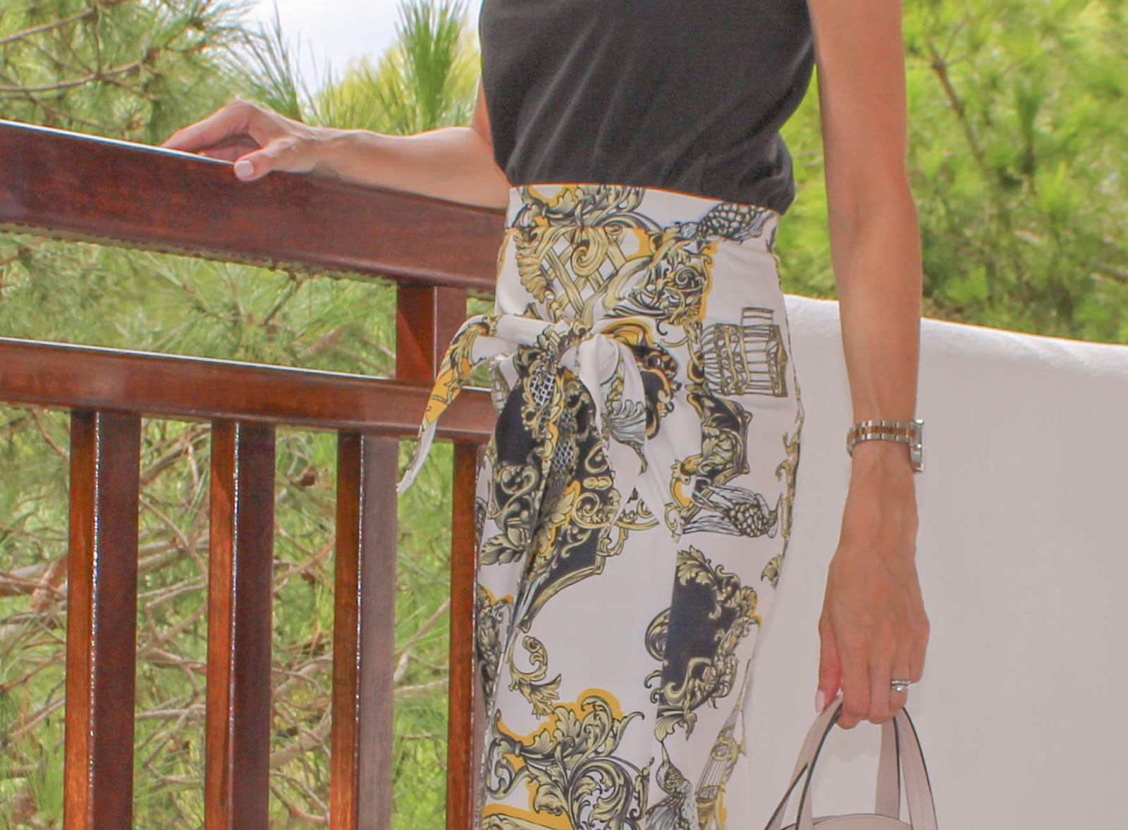 Why The Wraparound Midi Skirt Is My New Night Out Staple OOTN