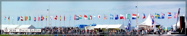 Des exposants festivaliers venus du monde entier.