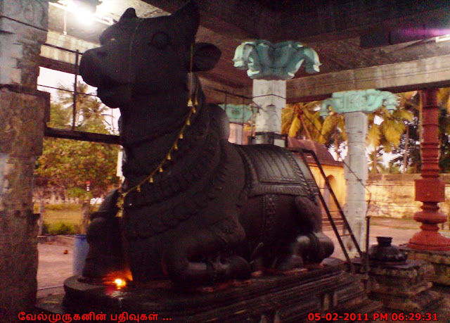 Nandhi Moved for Nandhanar