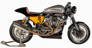 xrcr xr1200 cafe racer by shaw speed side right