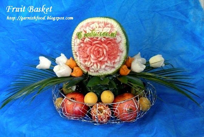 fruit basket for birthday