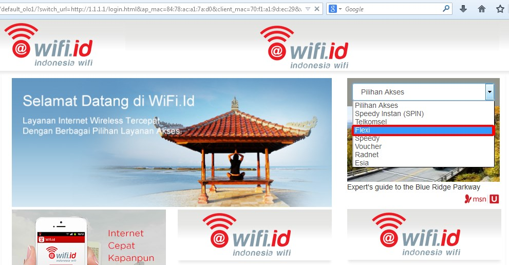Inilah Kode Login Wifi ID Gratis Sepuasnya
