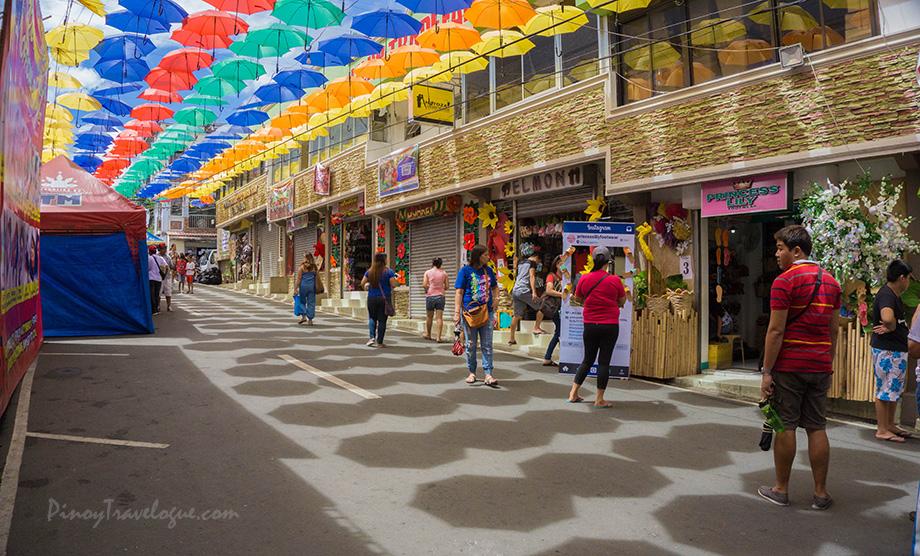 Footwear shops along Gat Tayaw Street