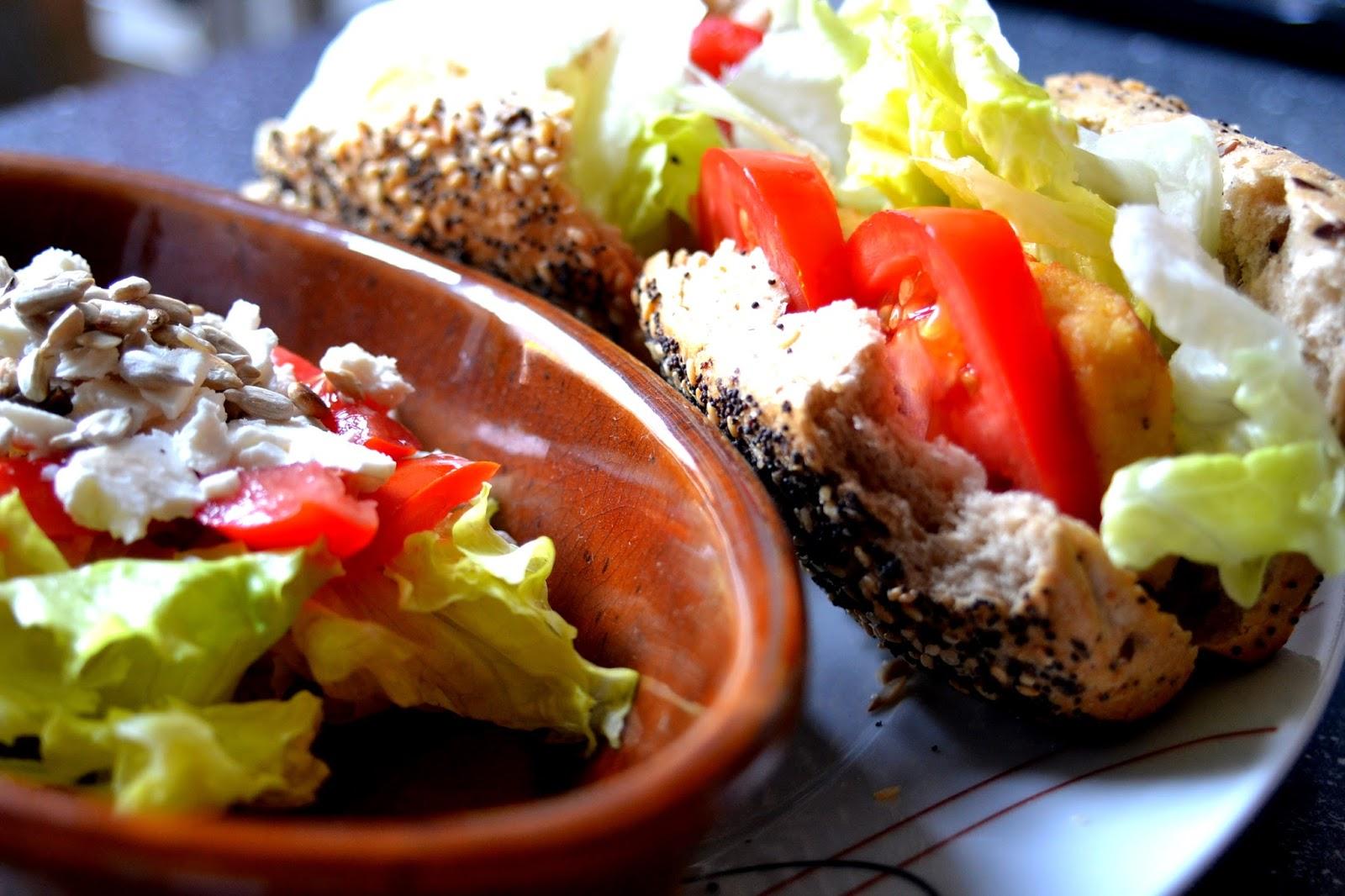 körner brötchen salat