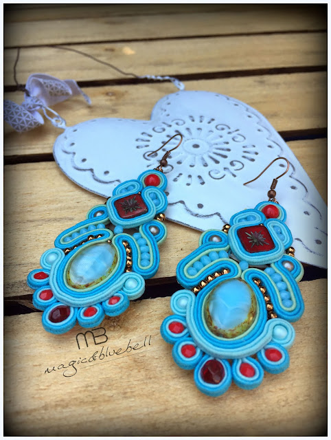 Soutache Sybill earrings