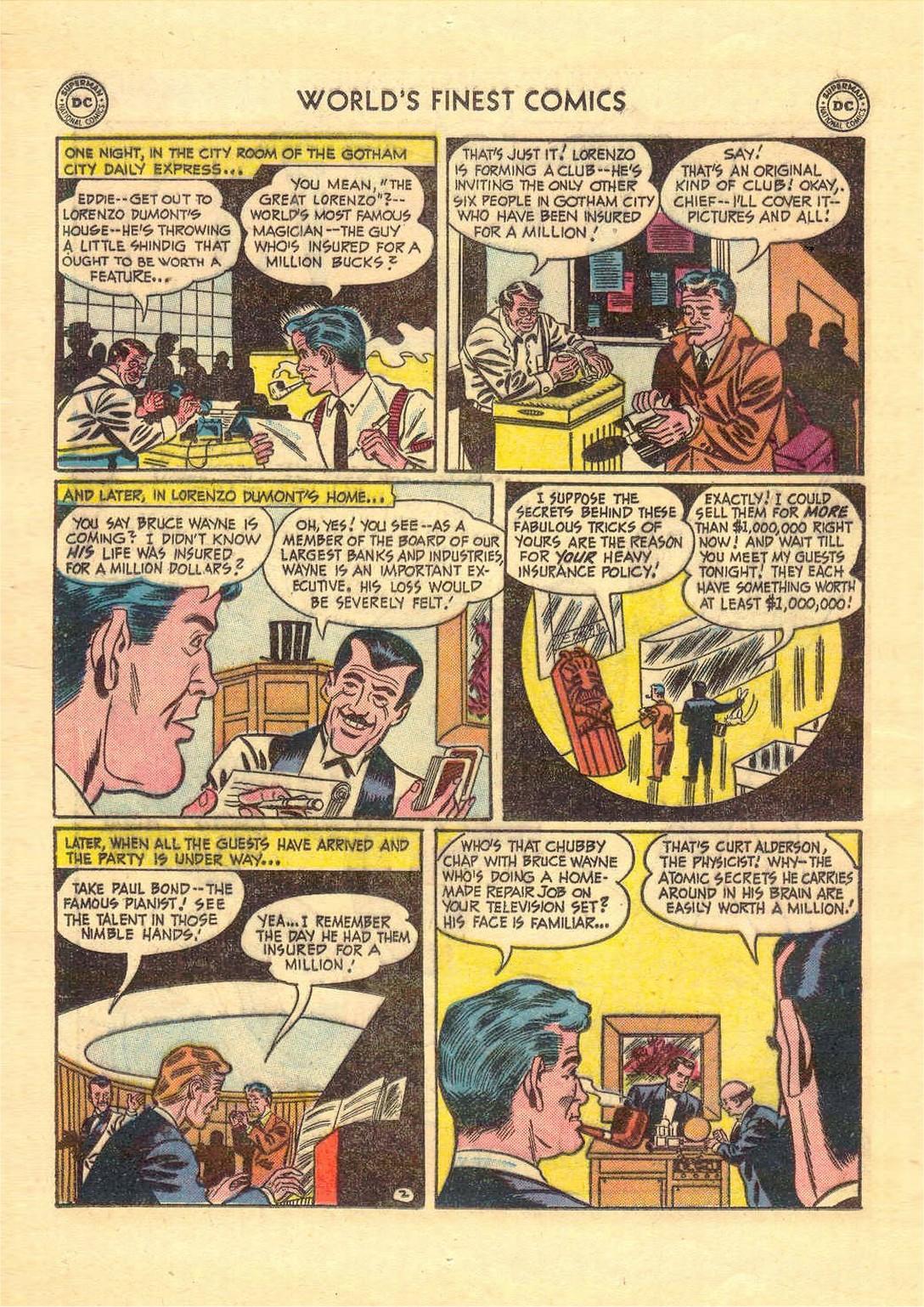 Read online World's Finest Comics comic -  Issue #52 - 64