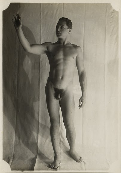 Early vintage male nudes