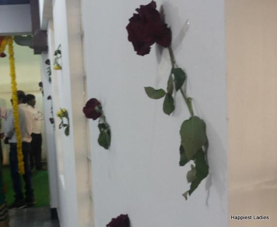 rose floral decoration